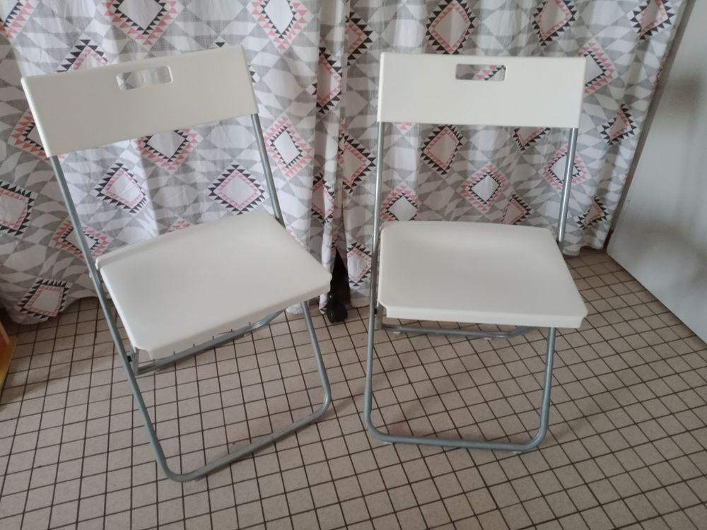 2 chaises pliantes Ikea 5 Mallièvre (85)