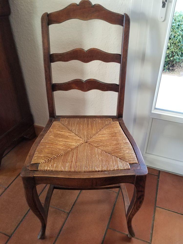 5 chaises provençales anciennes. 100 Lamanon (13)