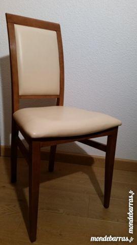 Achetez 4 chaises roche occasion, annonce vente à Chatou (78 ...