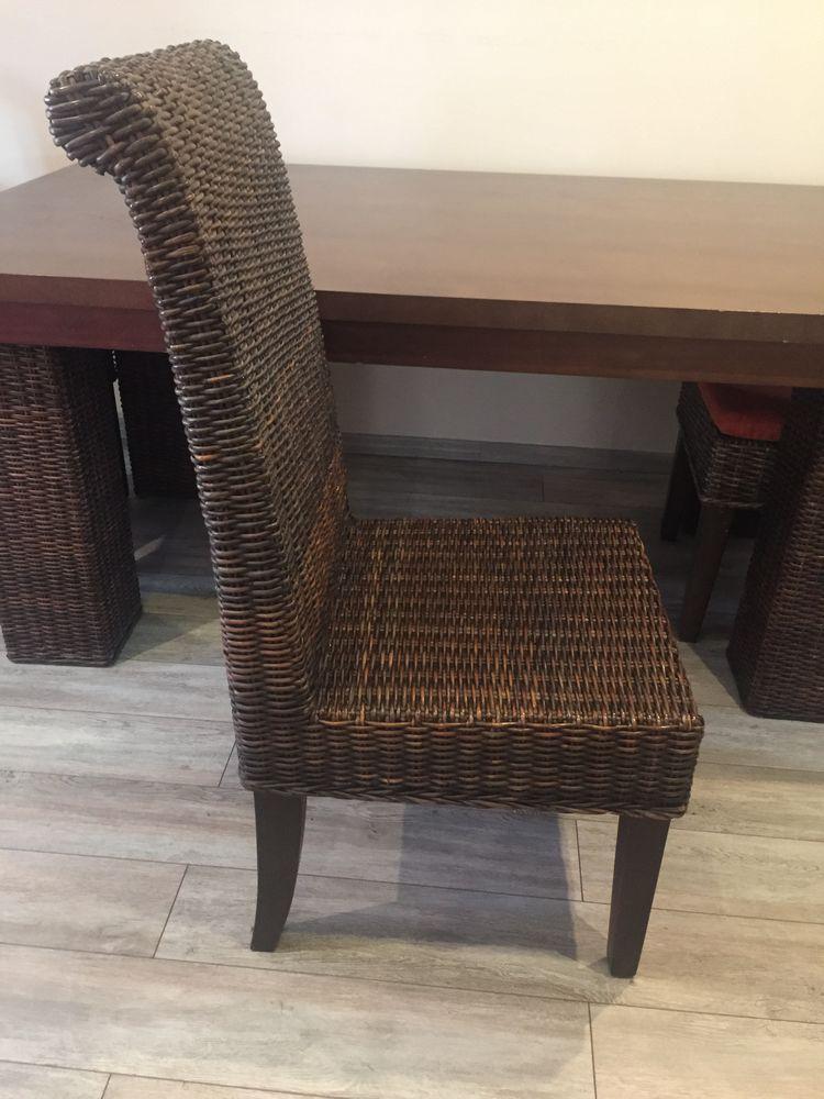 chaises en rotin marron  400 Draguignan (83)