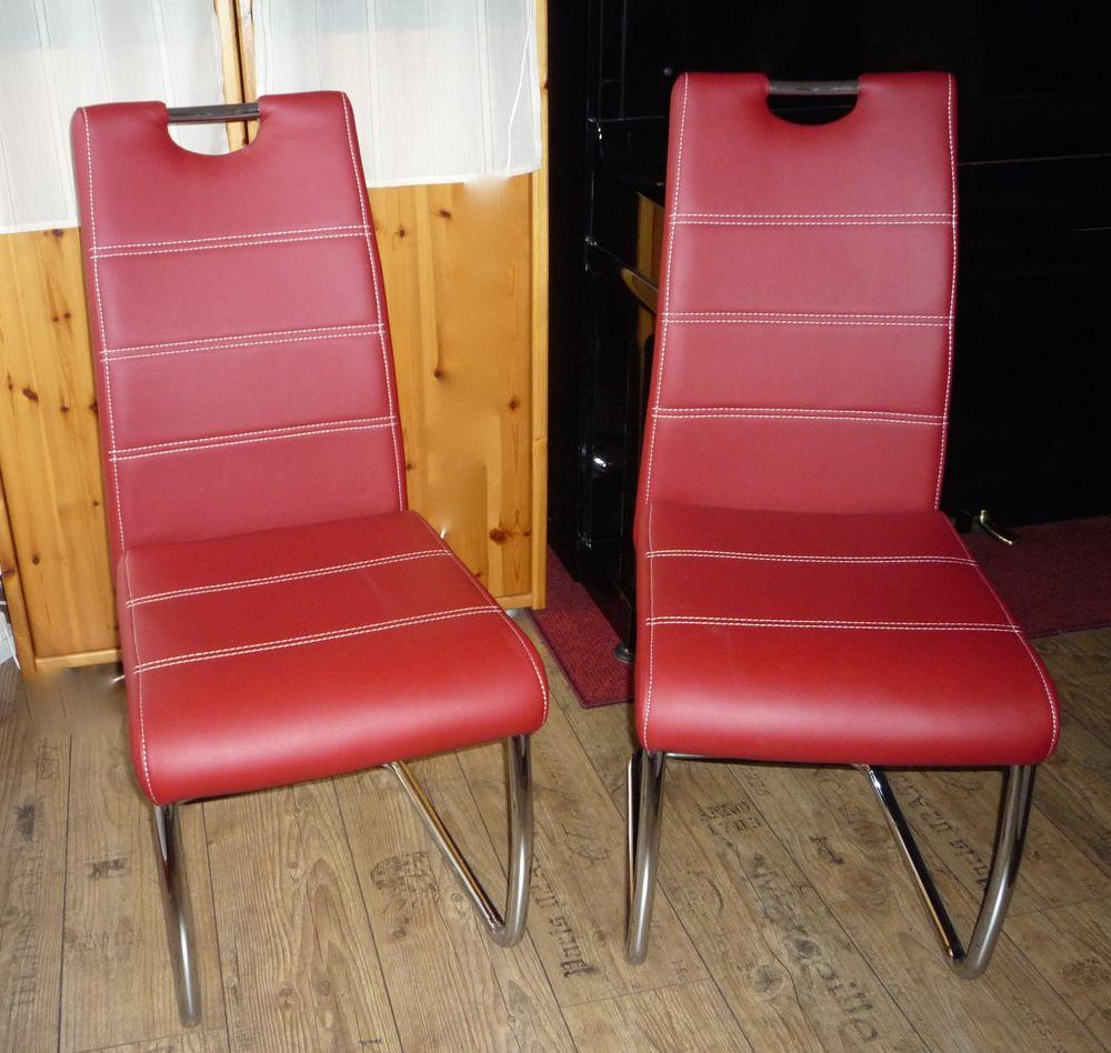 Achetez 3 Chaises Rouge Quasi Neuf Annonce Vente à évry 91