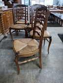 Lot de 6 chaises rustiques assises paillées 80 Toulouse (31)