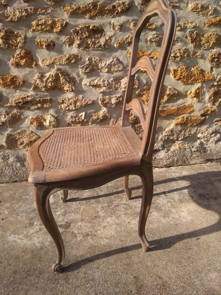 5 chaises rustiques style LouisXV à restaurer 100 Marles-en-Brie (77)