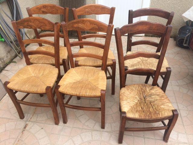 chaises rustiques 50 Canet Plage (66)