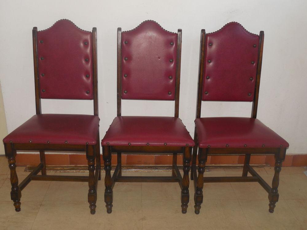 5 chaises de salle a manger 20 La Membrolle-sur-Choisille (37)