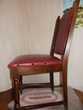 3 chaises de salon bois Meubles