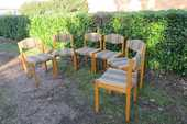 Lot de  6 chaises scandinaves des années 60 380 Paris 12 (75)