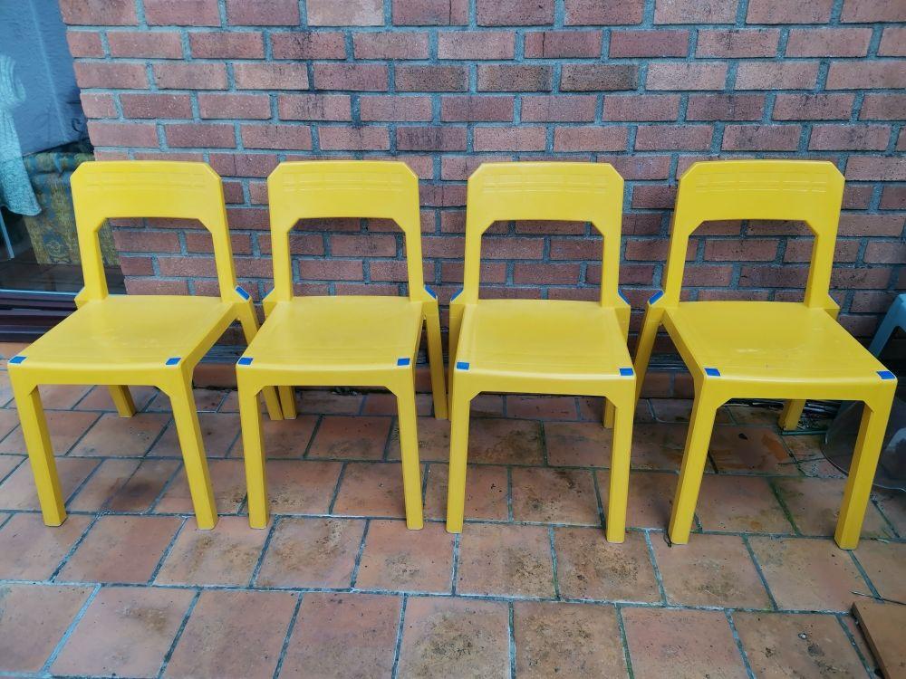 4 chaises signées Henri Massonnet 100 Champs-sur-Marne (77)