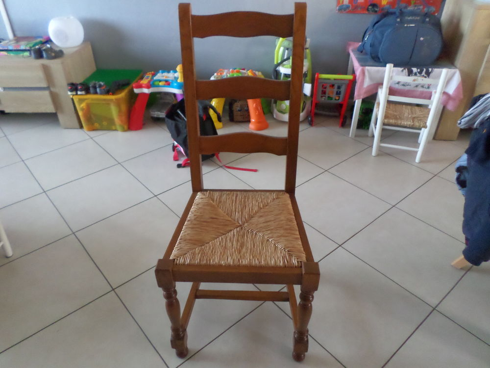 4 Chaises Style Ancien En Bois Meubles
