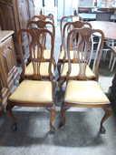 Lot de 6 chaises style Anglais assises cuir 250 Toulouse (31)