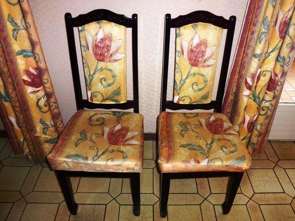 Lot de 6 chaises style asiatique 120 Châtenay-Malabry (92)