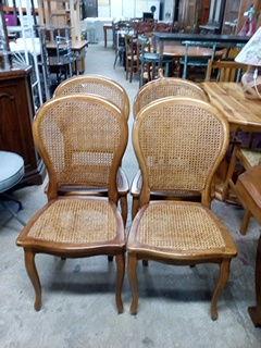 Lot de 4 chaises style Louis Philippe cannées 160 Toulouse (31)