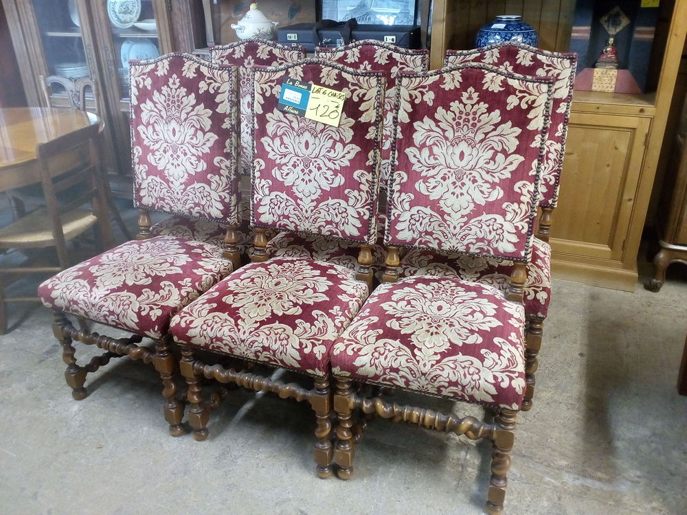 Lot de 6 chaises style Louis XIII 120 Toulouse (31)