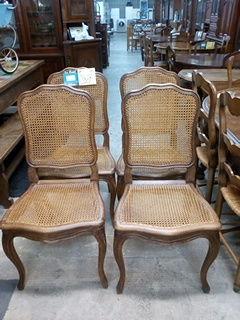 Lot de 4 chaises style Louis XV cannées 90 Toulouse (31)