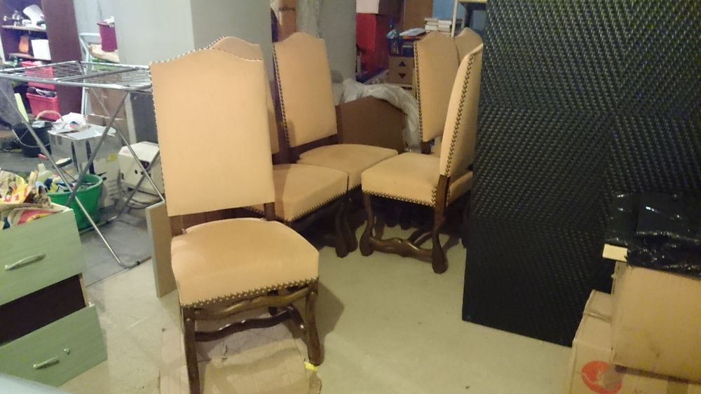 6 chaises style Louis XIII os de mouton 200 Neuilly-le-Réal (03)