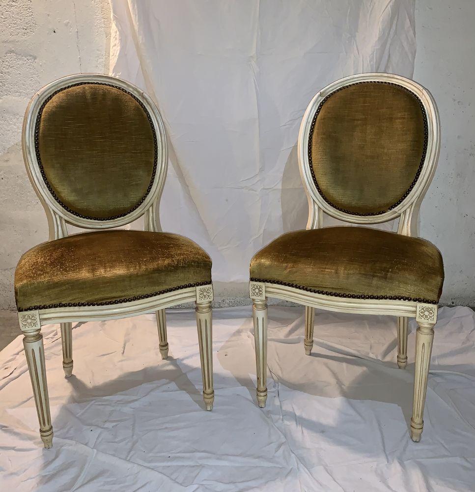 Lot de chaises style Louis XV  380 Montmagny (95)