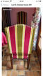 6 Chaises style Louis XIII