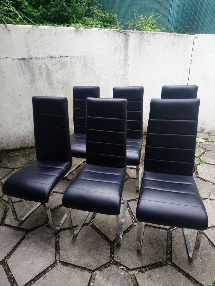 lot de 6 chaises de table à manger 70 Fontaine-le-Port (77)