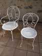 Chaises et tables de jardin en fer forgé Fermob Jardin