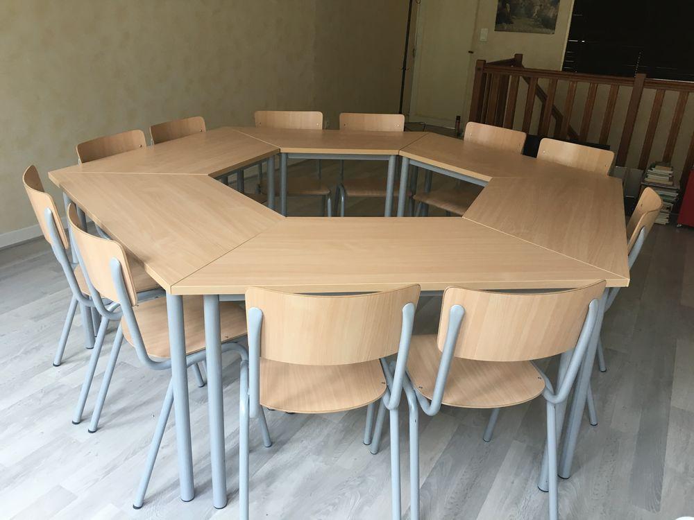 Chaises et tables de réunion modulables 620 Douai (59)