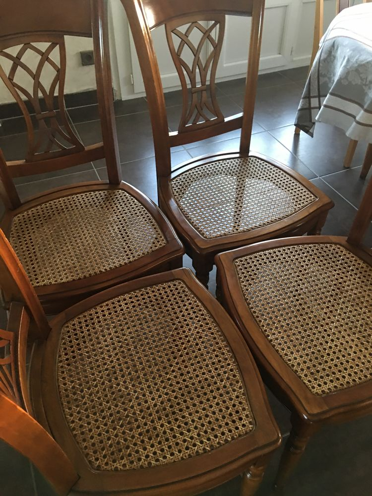 4 chaises TROTEL en merisier 200 Lyon 7 (69)