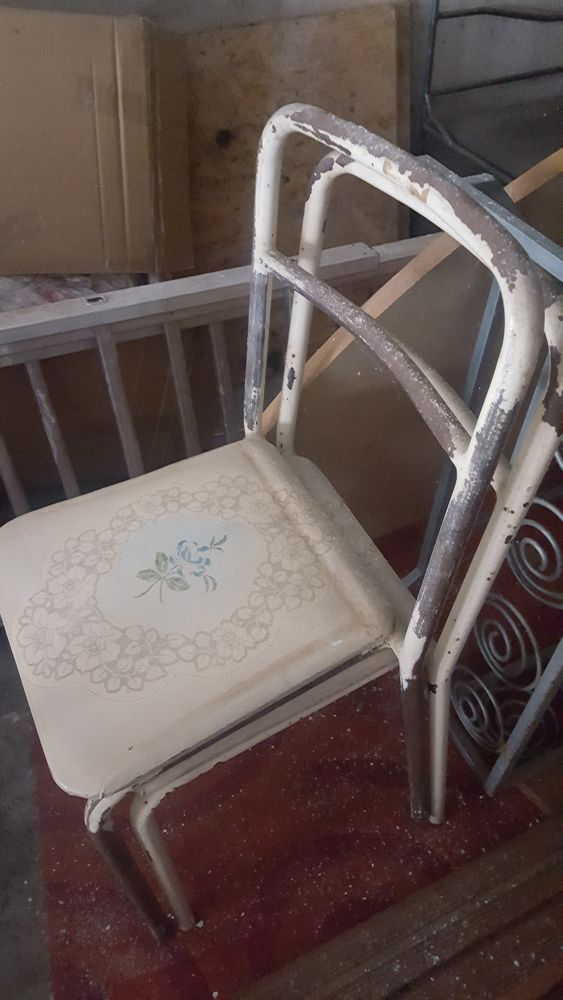 Lot de 4 chaises vintage à rénover 25 Montpellier (34)
