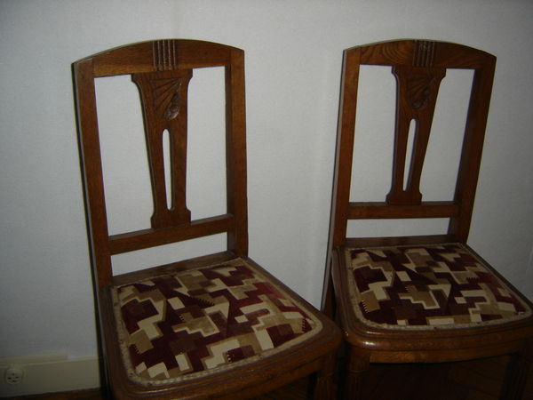 Achetez lot de chaises occasion annonce vente avensan 33 wb150690437 - Chaises vintage occasion ...