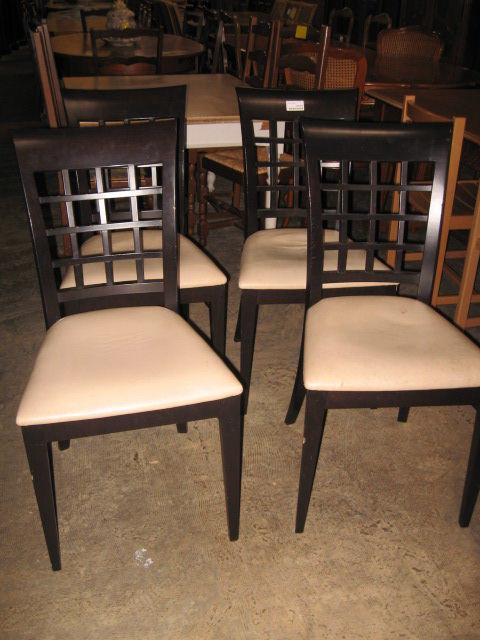 Lot de 4 chaises Meubles
