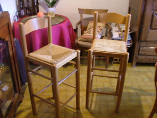 Chaises de bar 40 La Trinité (06)