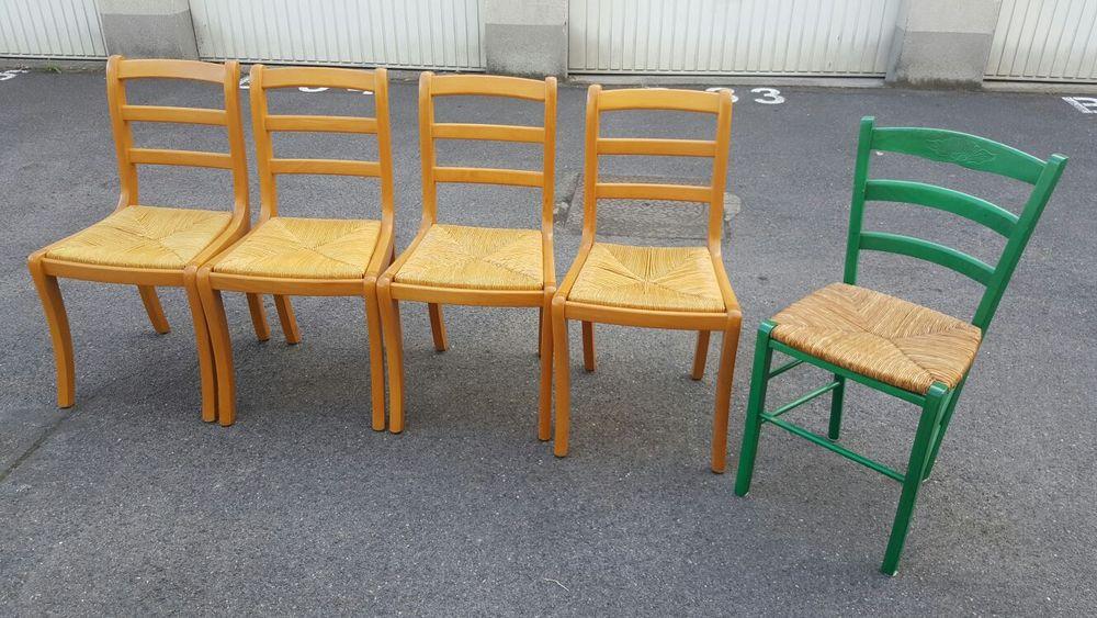 Lot de 5 chaises 30 Tremblay-en-France (93)
