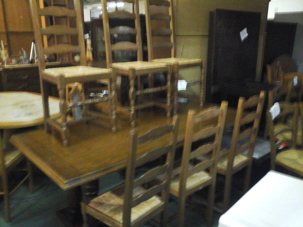 lot de 6 chaises Meubles