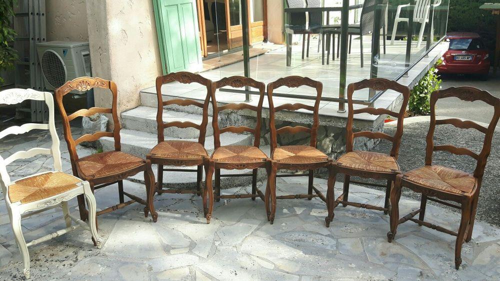 Lot de 6 chaises  110 Mougins (06)