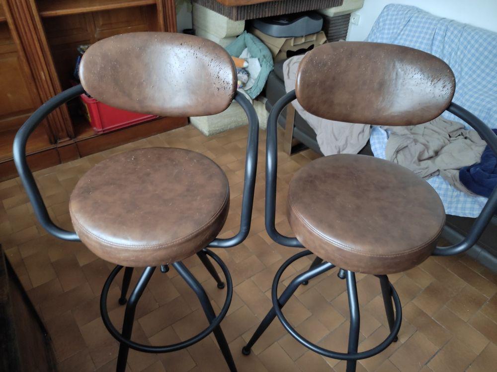 2 chaises de bar 50 Arras (62)