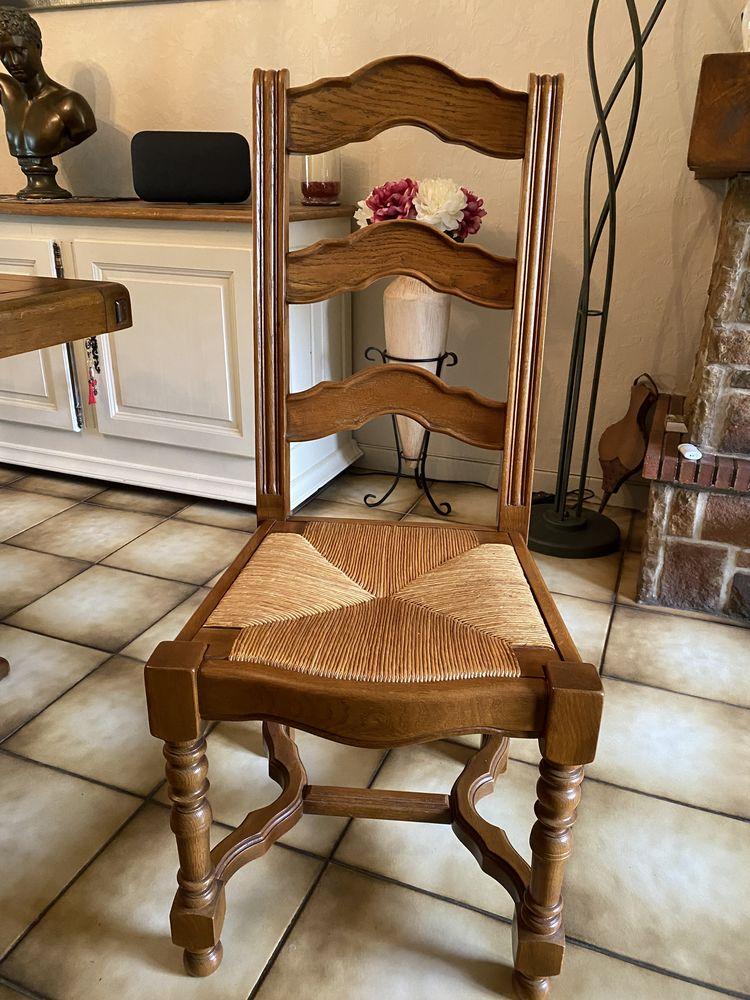 6 chaises 70 Vaudricourt (62)