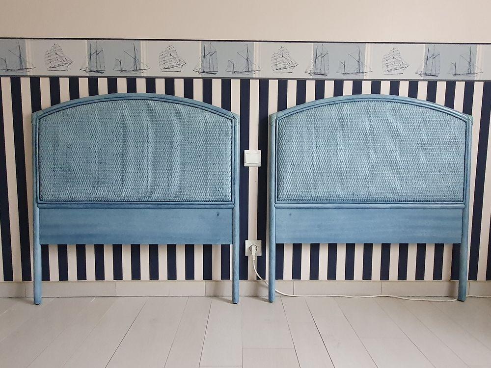 Chambre avec 2 têtes de lits jumeaux  450 Étaples (62)