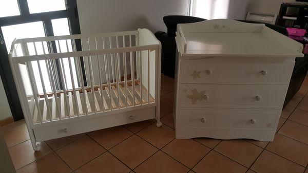 Achetez chambre bébé sauthon occasion, annonce vente à Nissanlez