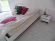 chambre en bois laqué blanc Meubles