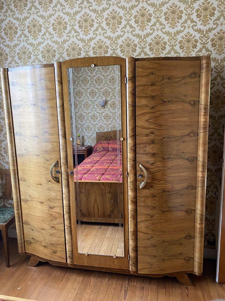 Chambre bois de rose  Armoire et lit  0 Biganos (33)