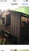 Chambre lit cabane  600 Villeurbanne (69)