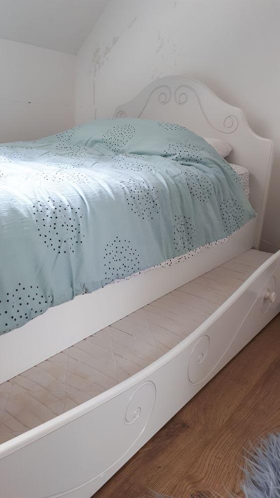Chambre complète blanche style Princesse 270 Lestrem (62)