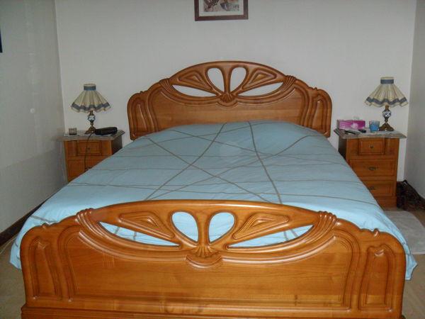 chambre complete chene massif 1400 Provins (77)