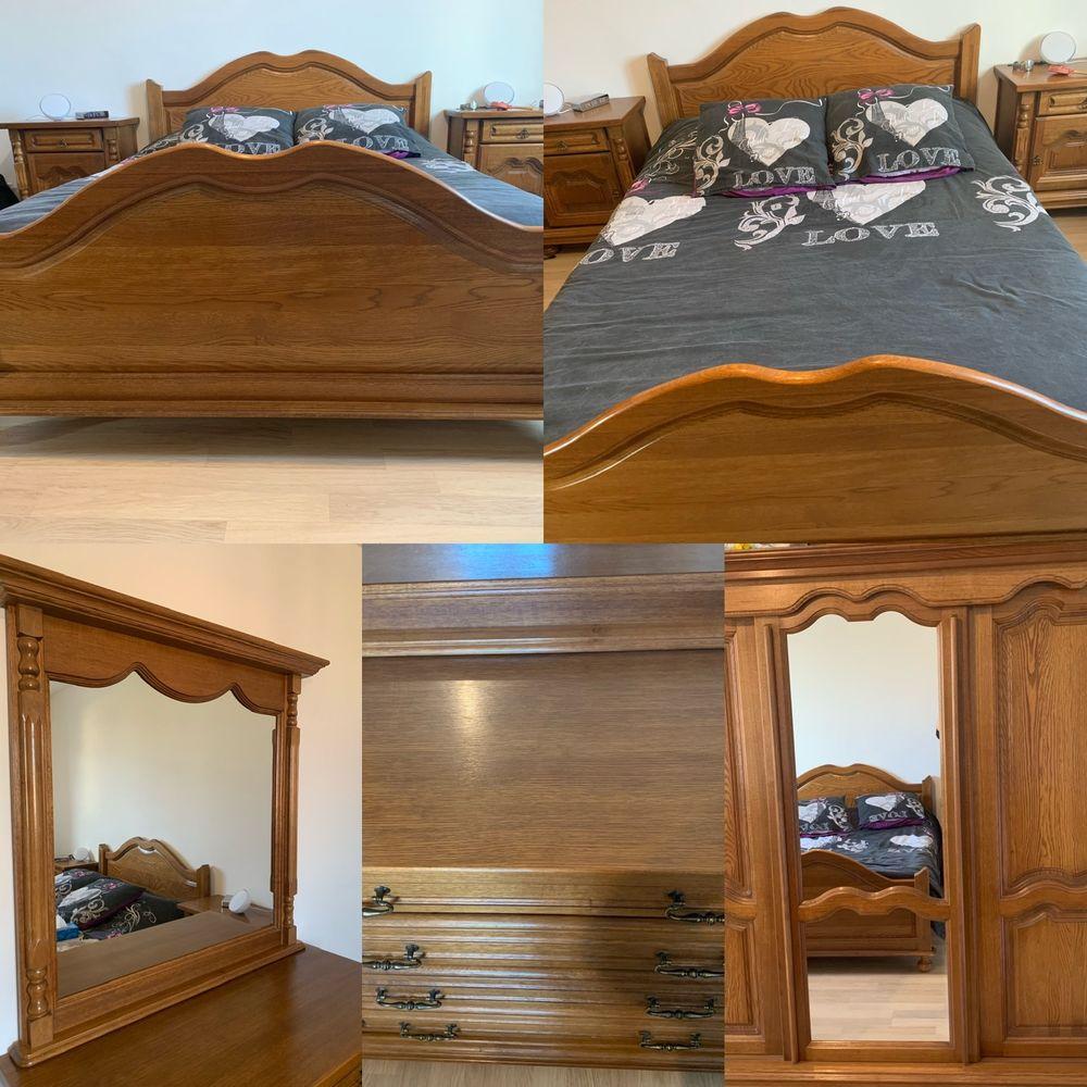Chambre complète en chêne  1500 Rive-de-Gier (42)