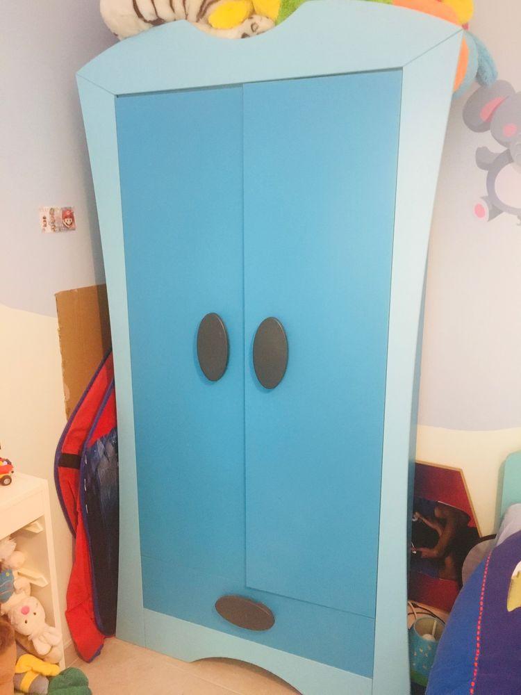 Chambre complète enfant bleue 200 Saint-Savournin (13)