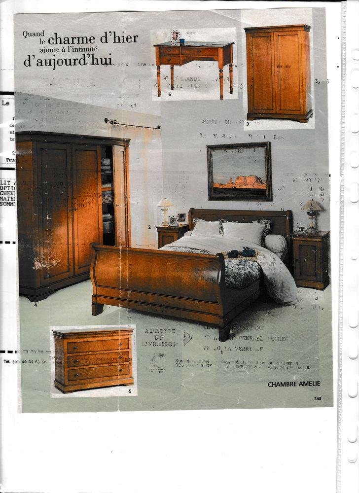 chambre complète en merisier de la CAMIF 0 La Mailleraye-sur-Seine (76)