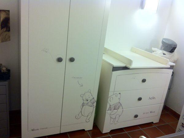 chambre complete winnie l ourson mobilier enfants - Chambre Complete Bebe Winnie Lourson