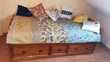 Chambre composée d'un lit 1 personne et de 3 petits meubles  290 Chalon-sur-Saône (71)