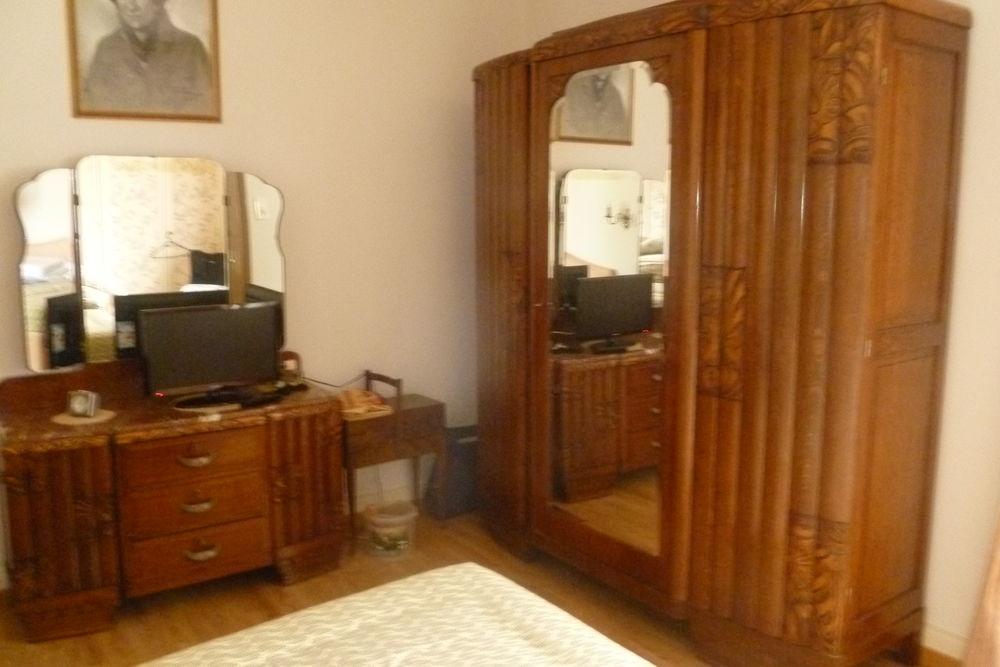 Chambre A Coucher Ancienne Complete En Chene Massif