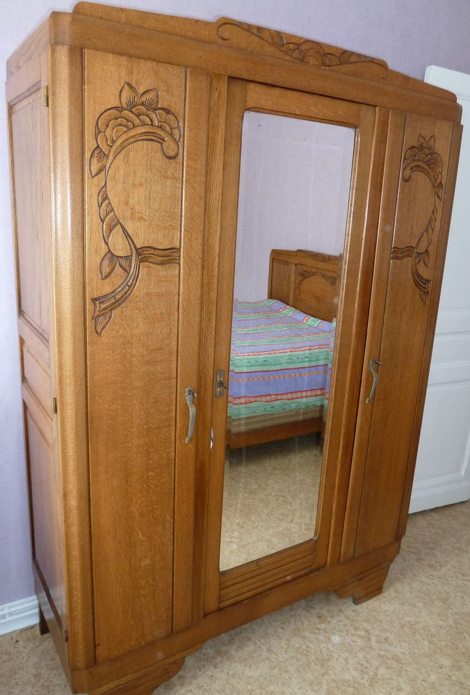 CHAMBRE A COUCHER - ANNEES 1940/1950 0 Sallaumines (62)
