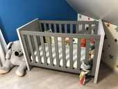 Chambre à coucher bébé complète 3 pièces 550 Bierne (59)
