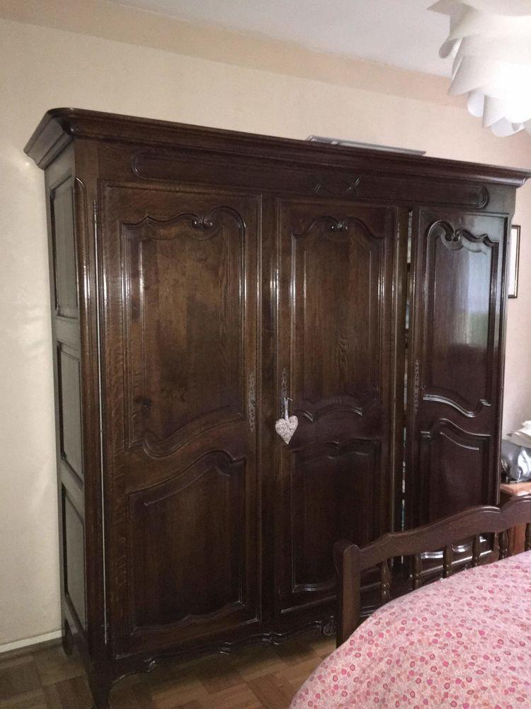 Chambre à coucher en chêne 100 Amagney (25)